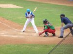 The Industriales at plate